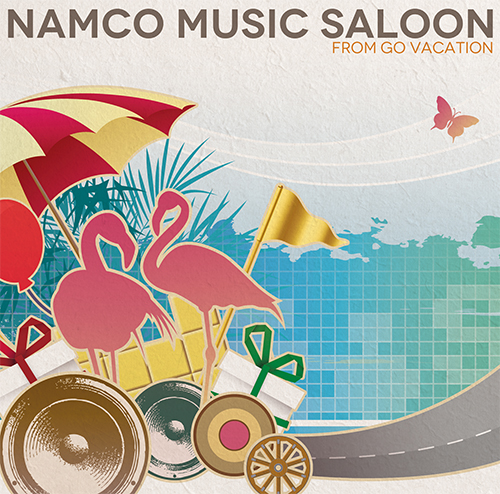 『NAMCO MUSIC SALOON ~FROM GO VACATION_jckt』